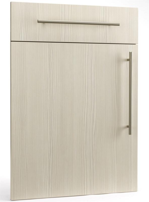 Ref 1302 whiteavola pine woodgrain doors kitchen for Wood grain kitchen doors