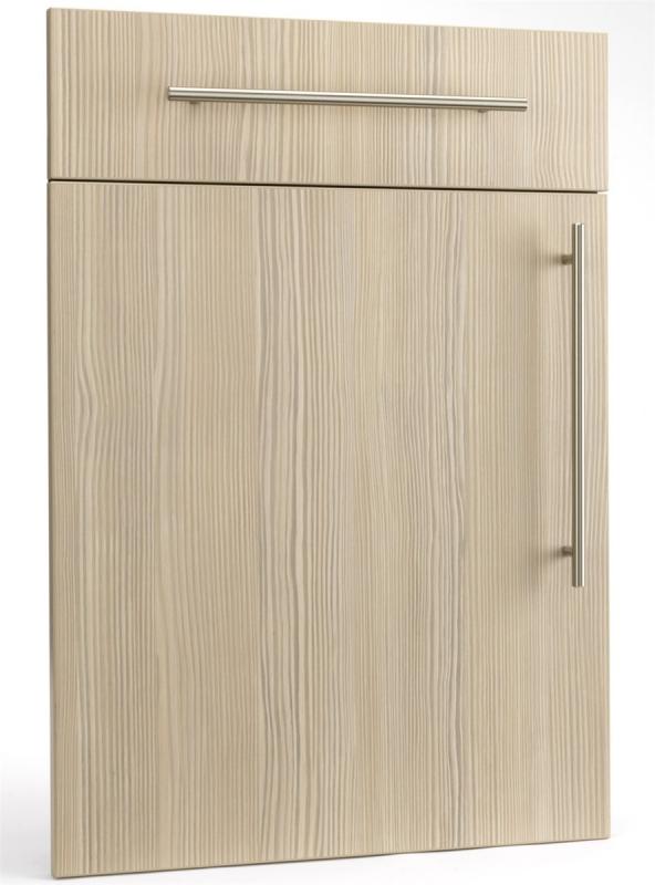 Ref 1303 champagneavola pine woodgrain doors kitchen for Wood grain kitchen doors